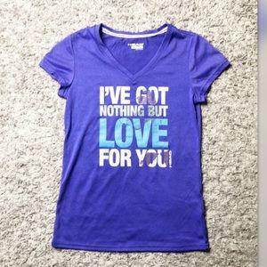 Head purple workout T-shirt